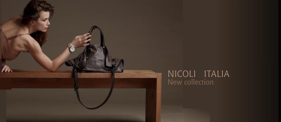 Δερματινες τσαντες Nicoli Italia-new-collection