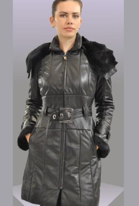92b3cec9a42 Δερματινο παλτο με εξαιρετικης ποιοτητας blonze black nappa και ...