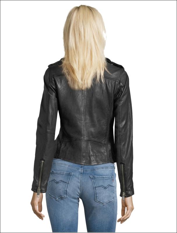 A Δερματινο γυναικειο μπουφαν FN 91τυπου Perfecto με Black Nappa Washed.  τιμη 295 Eu1 c4d3b927df9